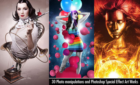 30 Creative Photo manipulations and Photoshop Special Effect Art Works | Art Works | Scoop.it
