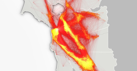 Animated Maps Illustrate the Hell of Bay Area Commuting | Location Is Everywhere | Scoop.it