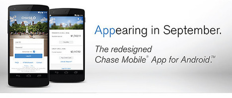 Chase Financial institution to replace Android app with iOS-like redesign this September – 3cseo | Content Marketing Services | Scoop.it