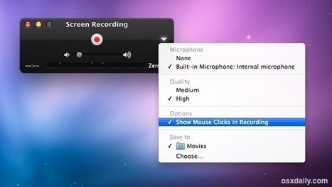 How to Use the Screen Recorder on a Mac | Ed Tech | Scoop.it