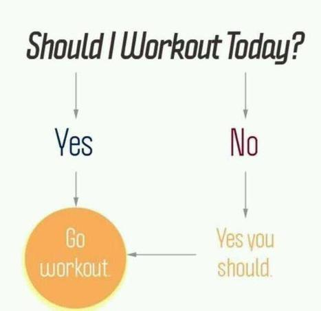 Twitter / FitnessWays: Should you workout today? ...   Health and Fitness   Scoop.it