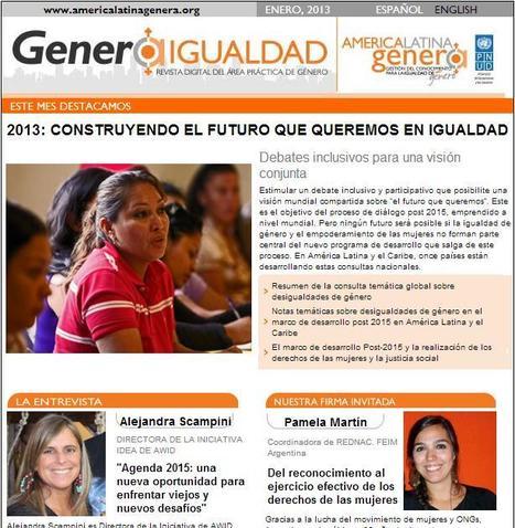 Genera Igualdad: Revista Digital ENERO 2013 | Igualdad de genero | Scoop.it