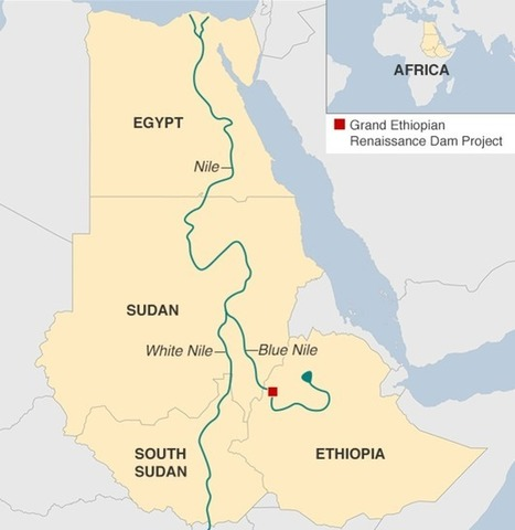 Egypt, Ethiopia and Sudan sign deal to end Nile dispute | Geography Education | Scoop.it