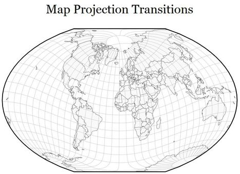 Map Projection Transitions | Geography Education | Scoop.it