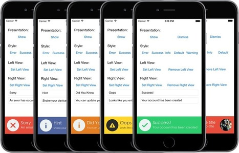 atljeremy/JFMinimalNotifications | iPhone and iPad Development | Scoop.it