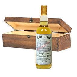 Littlemill 20YO 70cl Single Cask Wooden Box Single Malt Scotch Whisky | Whisky | Scoop.it