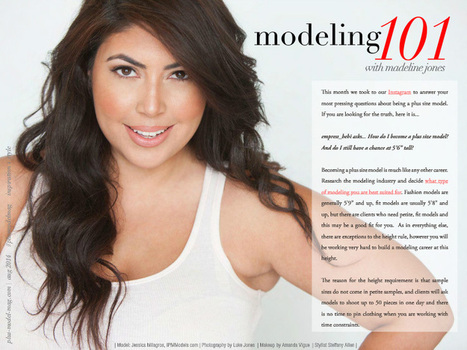 Plus Modeling 101: PMM Editor-in-Chief Madeline Jones Answers Your Questions - PLUS Model Magazine | Modeling 101 | Scoop.it