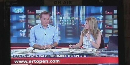Après sa fermeture en juin, l'audiovisuel public grec reprend dans la confusion   DocPresseESJ   Scoop.it