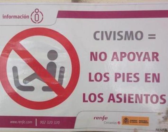 Rita, descalza en el AVE: los comentarios tras esta foto | Partido Popular, una visión crítica | Scoop.it