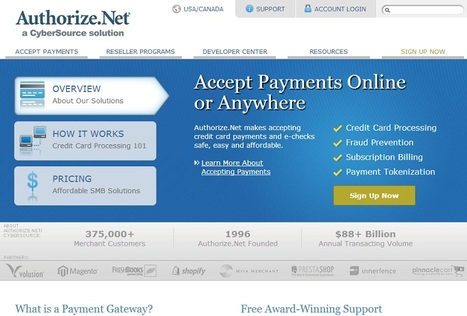 Payment Gateway Provider Authorize Network Login | How to | Scoop.it