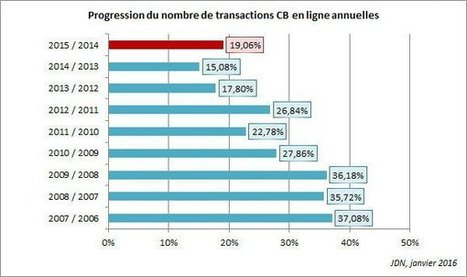 E-Commerce : 2015 marque un léger regain de croissance à 12,5% | Acheteurs, Shopper and Consumer Insights. | Scoop.it