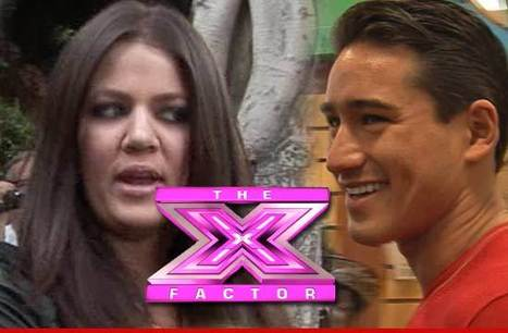 Khloe Kardashian and Mario Lopez -- We'll Be Your 'X Factor' Hosts | Show Prep | Scoop.it