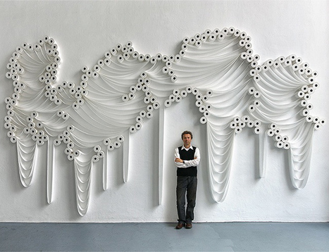 Toilet Paper Installations by Sakir Gökcebag | liquid landscape | Scoop.it