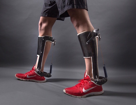 These exoskeleton heels could help stroke victims walk again | Assistive Technology | Scoop.it