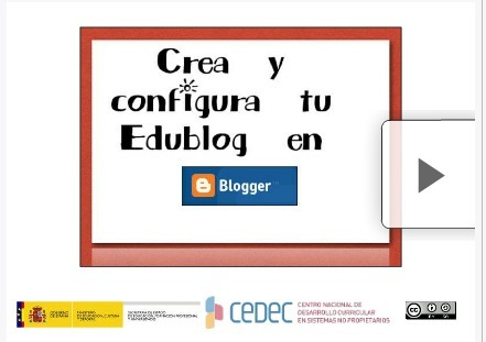 Tu Edublog en Blogger | Formación 2.0 | Scoop.it