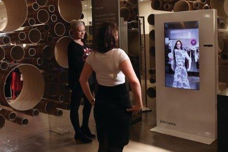 Des cabines d'essayage virtuelles et connectées dans un magasin John Lewis » Connected Store | Connected Store | Exemples | Scoop.it