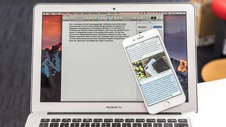 Kostenloses Update: Das ist neu in macOS Sierra | Mac in der Schule | Scoop.it