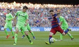 Lionel Messi inspires Barcelona to rout Getafe despite penalty miss - The Guardian | AC Affairs | Scoop.it