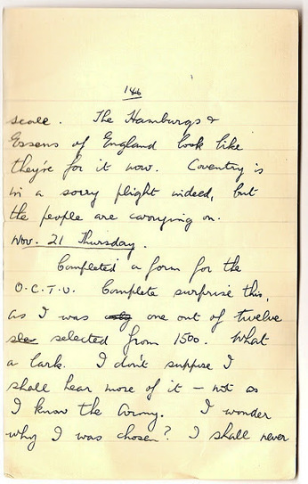 London War Diary: November 20th and 21st 1940   London War Diary. Original written pages. 1940   Scoop.it