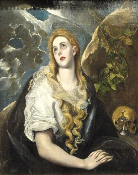 El Greco's Penitent Magdalene to be conserved - News in Conservation, Issue 40, February 2014   News in Conservation   Scoop.it