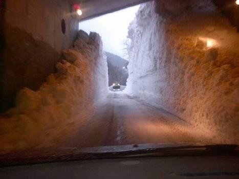 Sur la route de Piau Engaly le jeudi 26 février 2015 - Photo Agnès Cortes | Vallée d'Aure - Pyrénées | Scoop.it