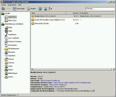 ReactOS : un Windows NT Open Source !!! | Informatique | Scoop.it