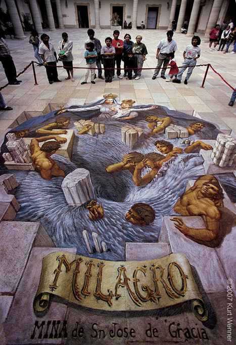 50 Absolutely Stunning 3D Street Art (Paintings) | Machinimania | Scoop.it