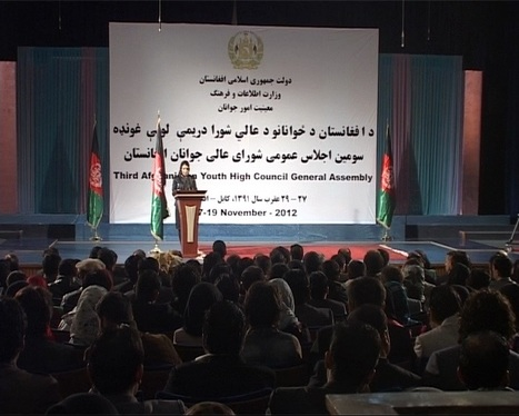 Youth role effective in country's prosperity - Ariana News | Afghan Youth | Scoop.it