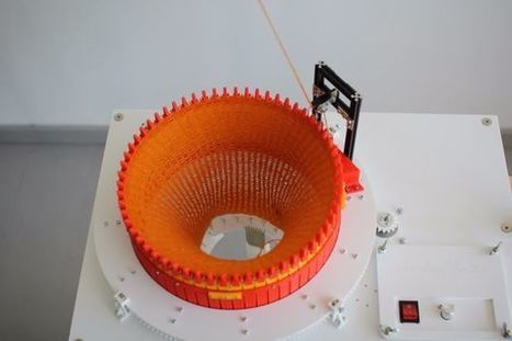 Makers Create a 3D Printed Circular Knitting Machine | tecnologia s sustentabilidade | Scoop.it
