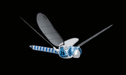 Festo BionicOpter: Robot Flies Like A Real Dragonfly | Social Foraging | Scoop.it