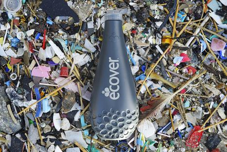 Cette bouteille de liquide vaisselle est fabriquée avec du plastique des océans - Bio à la Une.com   Groupe CHIALI   Scoop.it