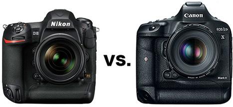Nikon D5 vs. Canon EOS 1D X Mark II specifications comparison | Nikon Rumors | Photo News | Scoop.it