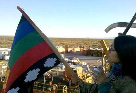 Perfil.com   Mapuches ocupan pozos en rechazo al acuerdo con Chevron   Protesta mapuche contra Chevron   Scoop.it