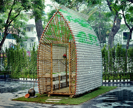 Bamboo, Plastic Bottles Make Eco-Friendly Greenhouse | Agronautas [NRU] Nuevas Realidades Urbanas | Scoop.it