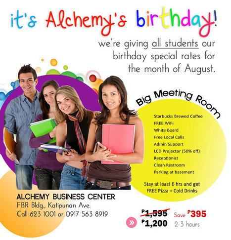 Happy 2 Celebrate Alchemy's 2nd Birthday with YOU | Katipunan Gazette | Scoop.it