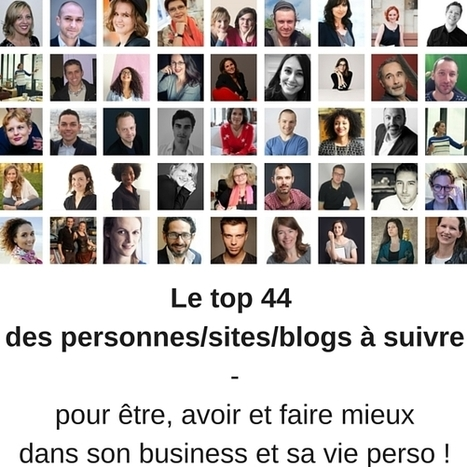 Le top 44 des meilleurs blogs francophones | MI  Marketing Intelligence | Scoop.it