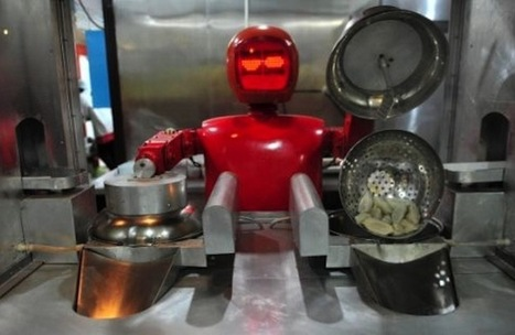The Future of Food: A Robot-Staffed Restaurant in Northeastern China, and Computer-Generated Recipes | FirstWeFeast.com | Vertical Farm - Food Factory | Scoop.it