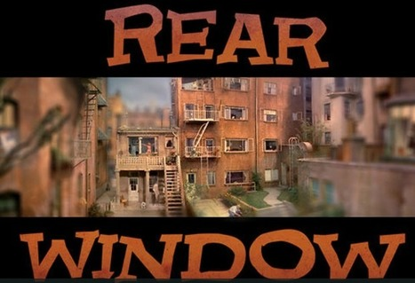 "Views from Hitchcock's ""Rear Window"" in Timelapse 