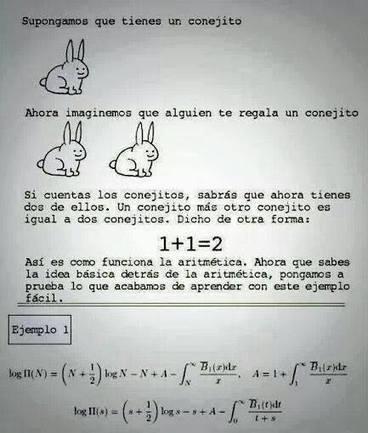 Aritmética para dummies | Humor racional | Scoop.it