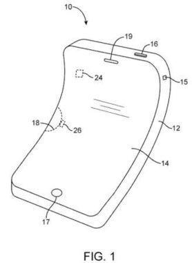 Un iPhone qui se tord... dans un brevet Apple | système d'exploitation des mobiles | Scoop.it