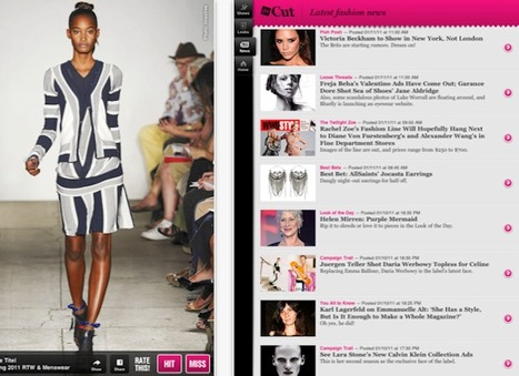 Fashion, Social Media + Mobile Marketing Blog » 11 iPad Apps The Fashion Industry Should Covet | Fashion Marketing 1 | Scoop.it