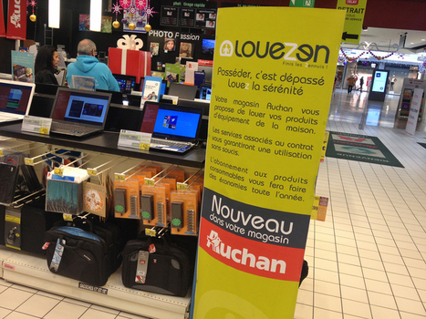 Non-al : Auchan teste la location (en toute discrétion !) « Olivier Dauvers | Customer Centric Innovation | Scoop.it