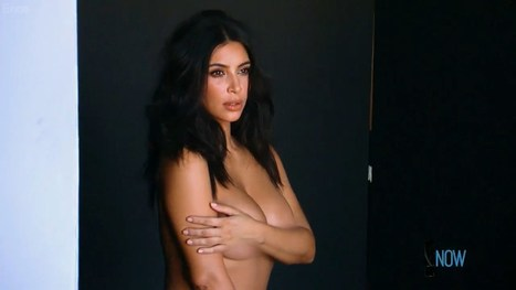 Photos : Kim Kardashian nue dans Keeping Up with the Kardashians | Radio Planète-Eléa | Scoop.it