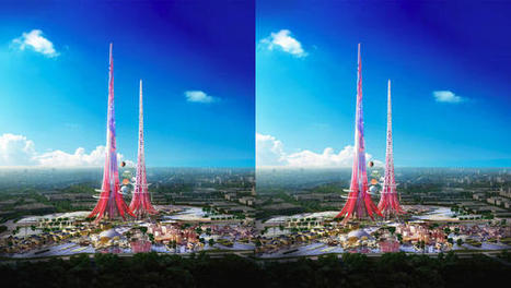 Inside China's Plans For The World's Tallest (And Pinkest) Towers | MishMash | Scoop.it