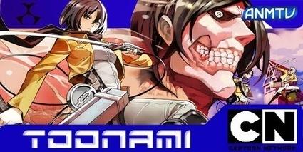 Shingeki no Kyojin: Un éxito de audiencia en Toonami | Play & Learn | Scoop.it