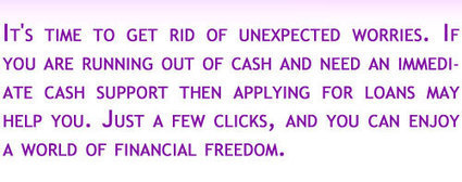 Unsecured Loans, Personal Loans, Bad Credit Loans, Secured Payday loans | Unsecured Loans | Scoop.it