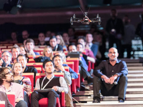 Remote-vision quadcopter soars over LeWeb | LeWeb Paris | Scoop.it