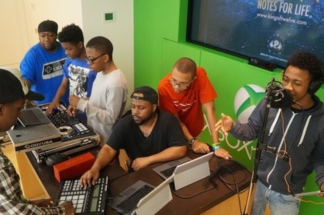 Ronnie Notch: Teaching music and tech to empower youth | Music Education | Scoop.it