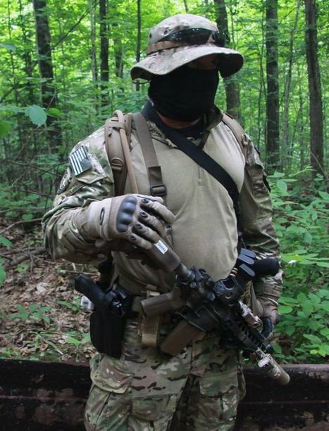 "Mining Company Deploys More Masked Militiamen Against ""Eco-Terrorists"" 