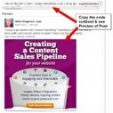 How to Embed a Facebook Post | Facebook Marketing Resources from Mike Gingerich | Scoop.it